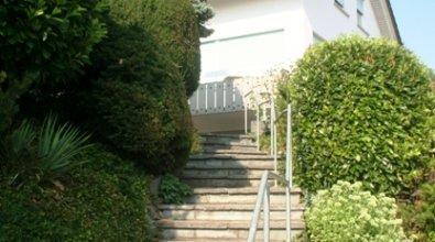 Hausansicht Treppenaufgang